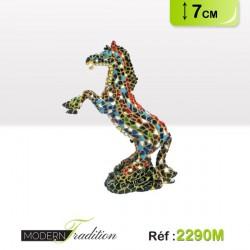 CHEVAL MOSAIQUE 7cm