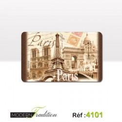 PARIS PLANCHE A DECOUPER 24x15cm