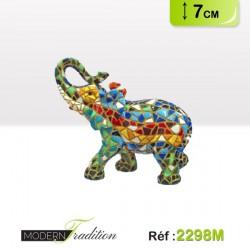 ELEPHANT MOSAIQUE 7cm