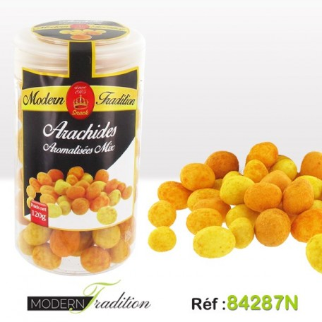 MT SNACK-ARACHIDES AROMATISEES MIX 120 G