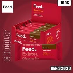 FEED BARRE REPAS DOUBLE CHOCOLAT CRISPY 100G