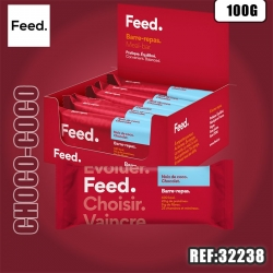 FEED BARRE REPAS NOIX COCO CHOCOLAT 100G